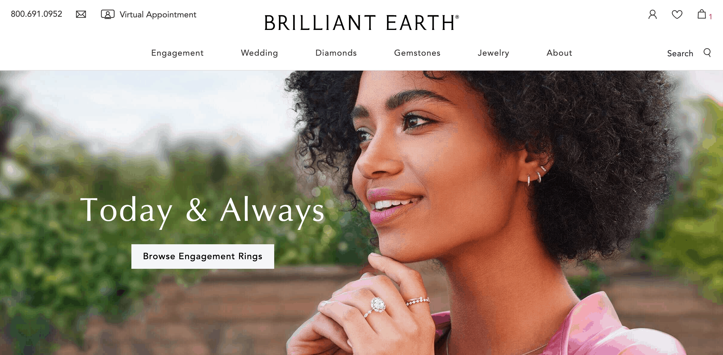 brilliant earth website