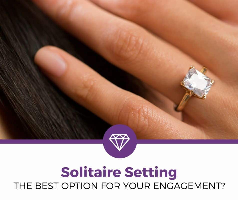 solitaire setting engagement ring guide