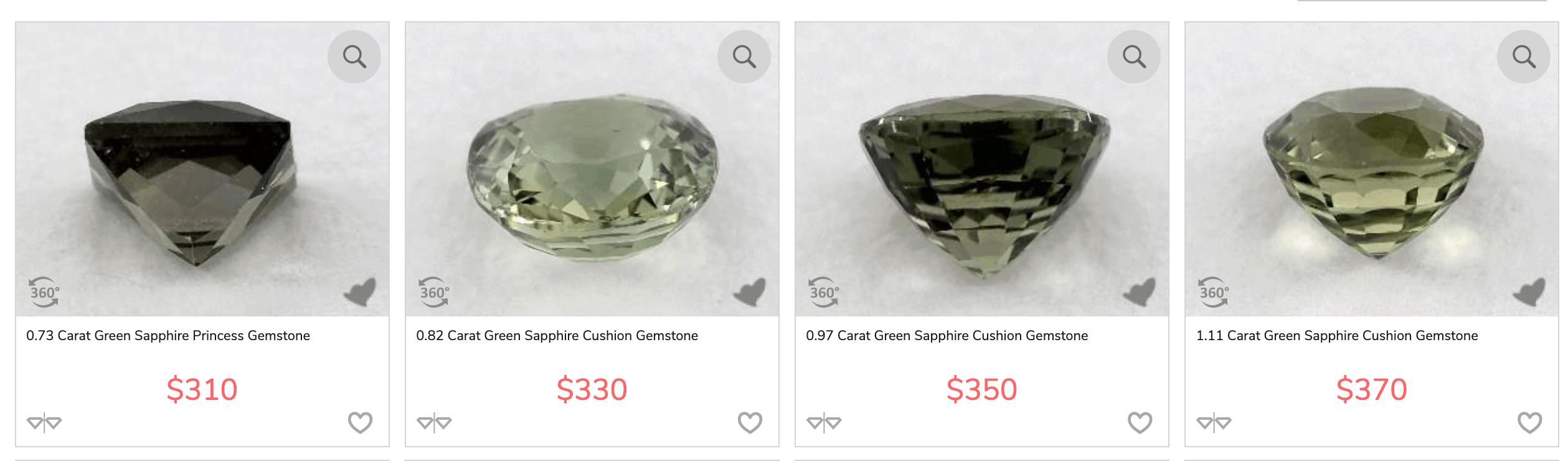 james allen sapphire gemstone cut types