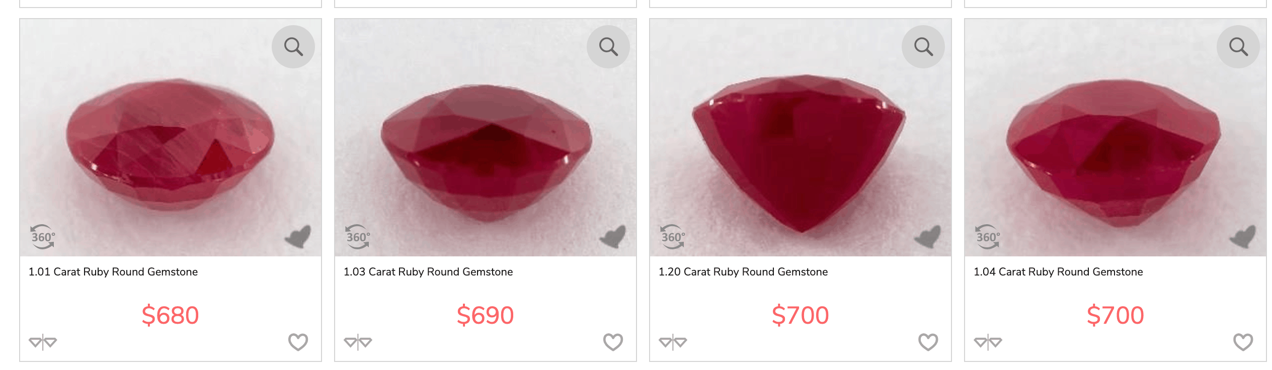 james allen ruby cut types