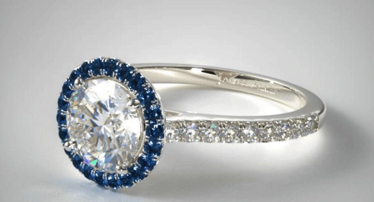 james allen sapphire engagement ring