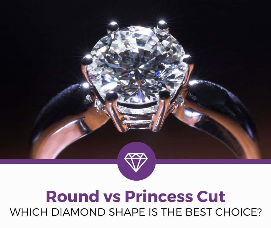 round vs princess cut diamond