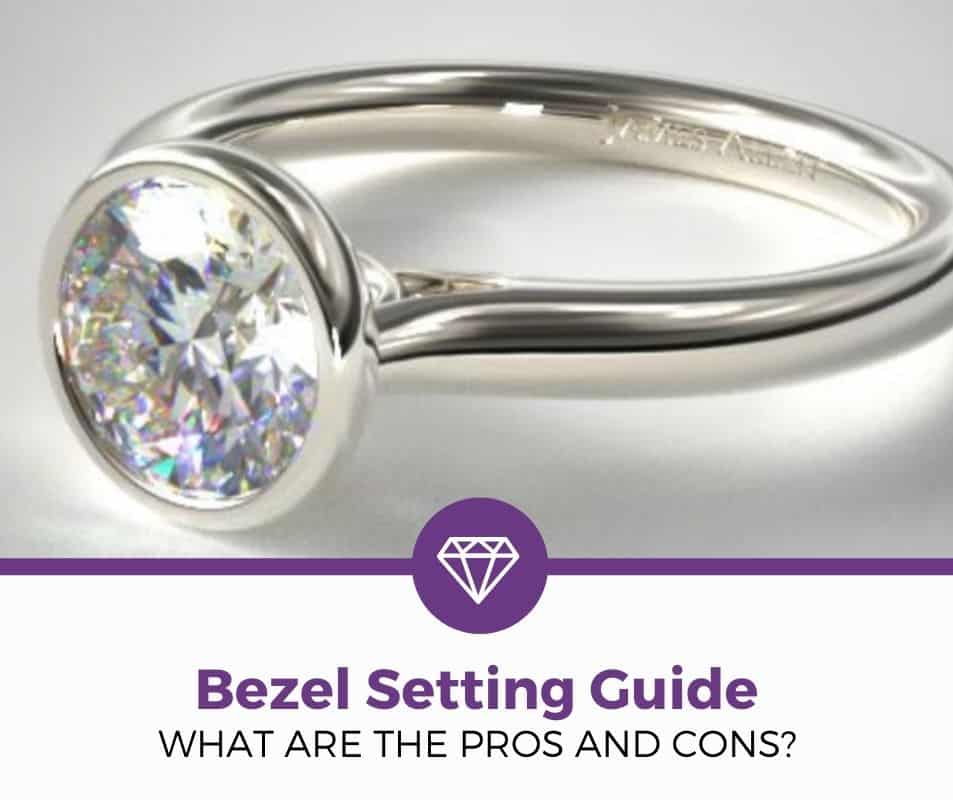 Bezel Setting engagement ring pros and cons