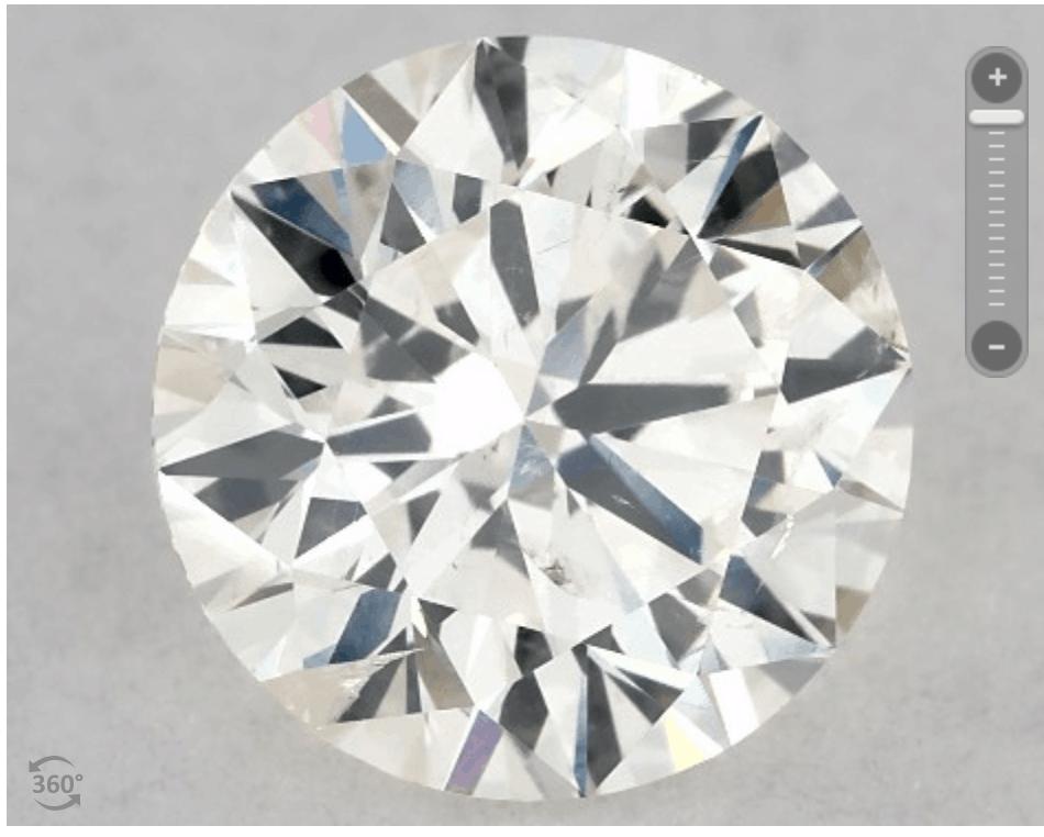 SI2 clarity diamond