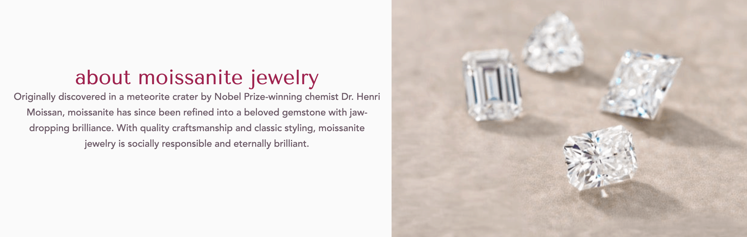helzberg moissanite jewelry