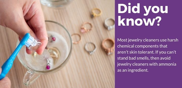 did you know best solution jewelry cleaner fact