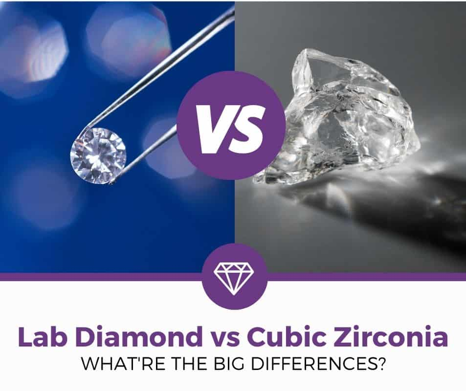 lab diamond vs cubic zirconia diamond