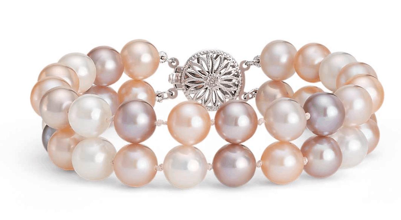 Blue Nile pearl bracelet