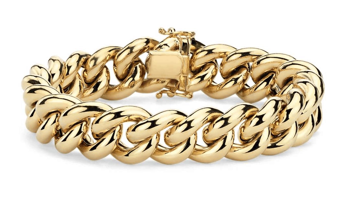 Blue Nile chain bracelet