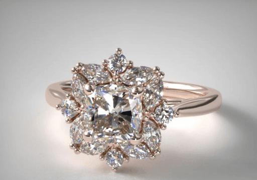 halo setting save diamond