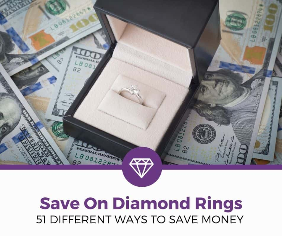 save money diamond rings