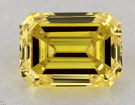 yellow fancy diamond