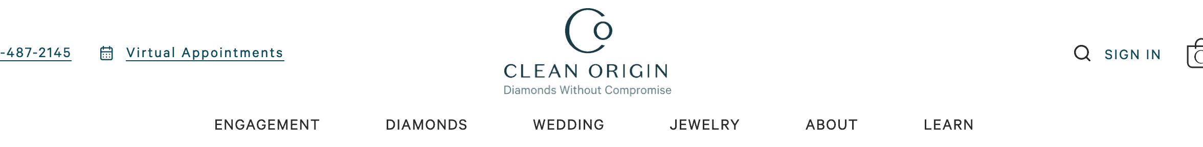 Buying blue diamonds at Clean Origin