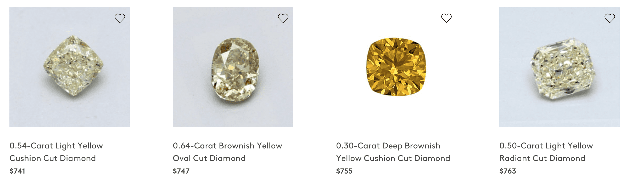 Buying Yellow Diamonds at Blue Nile