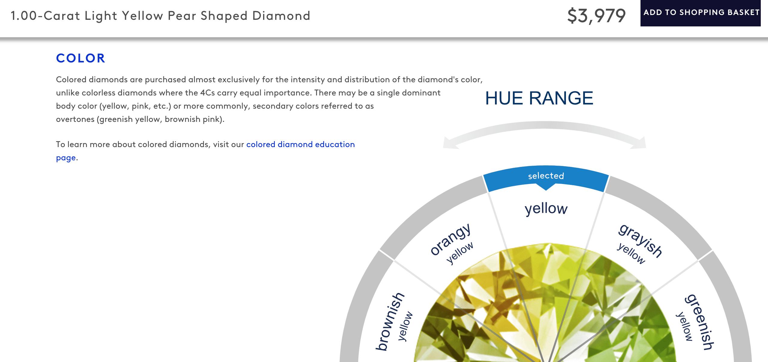 Blue Nile Pear-Shaped Diamond