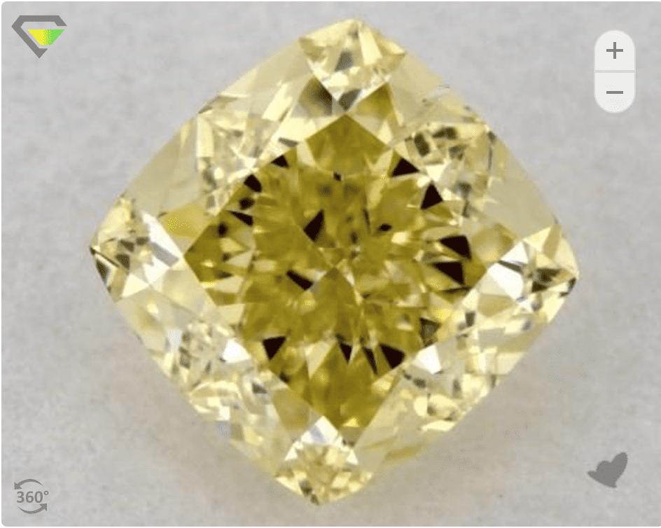 where to buy yellow diamonds online