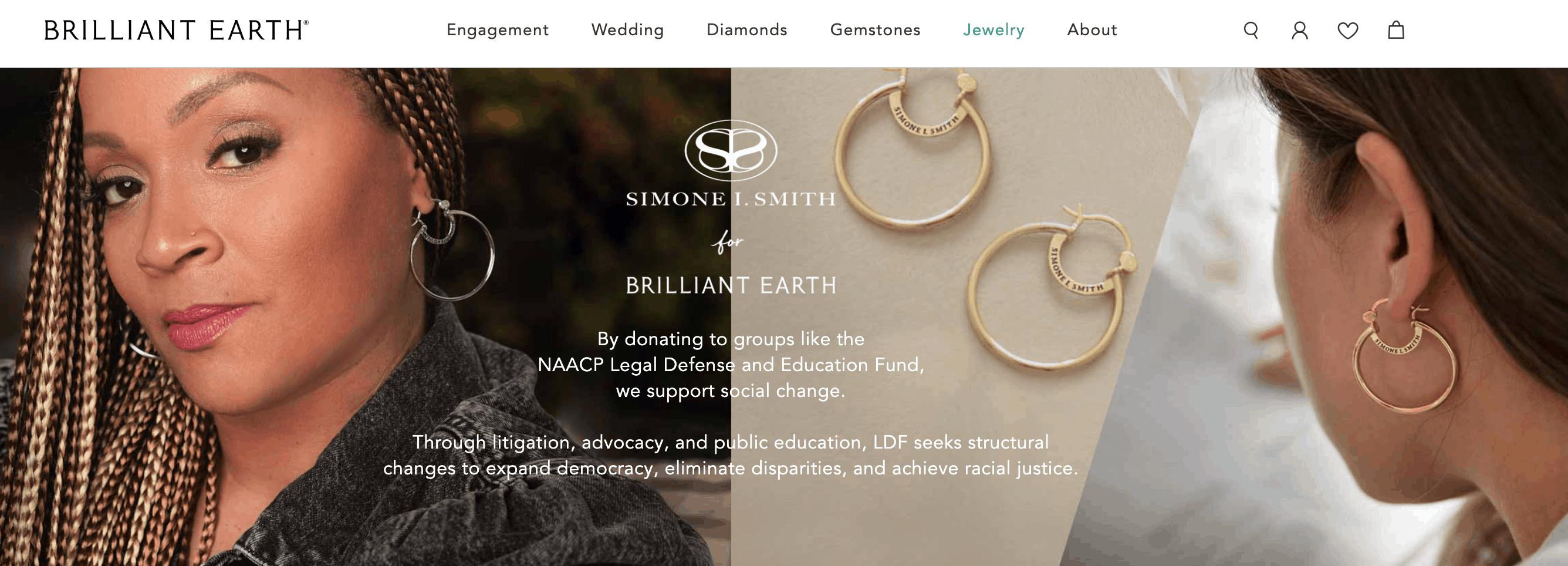 brilliant earth simone smith collection
