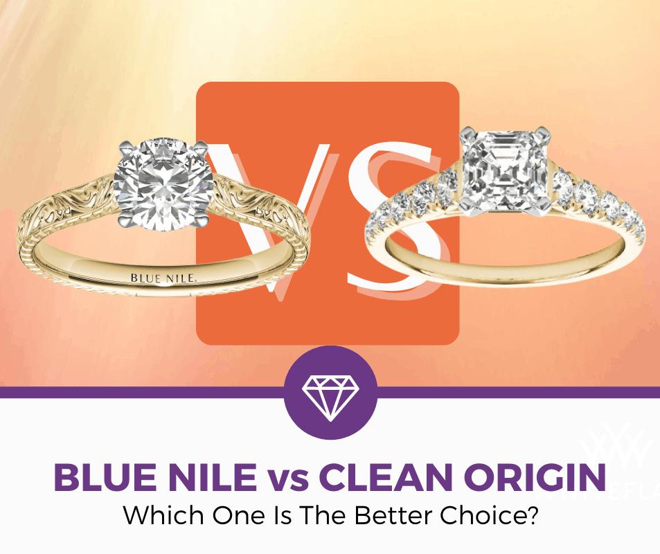 blue nile vs clean origin