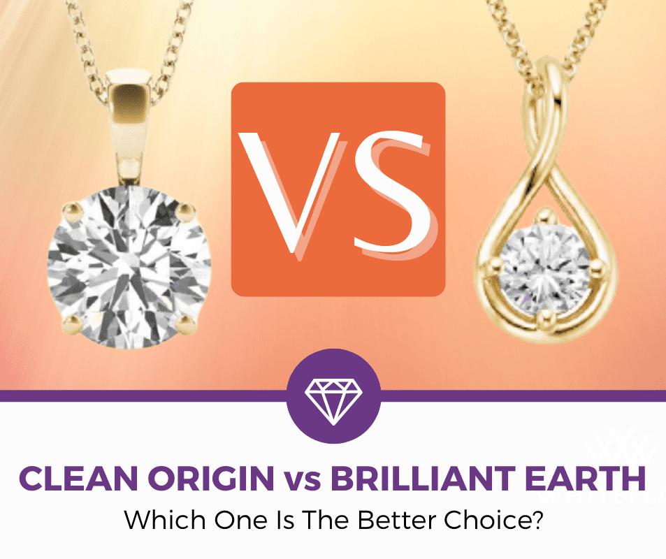 clean origin vs brilliant earth - featured image