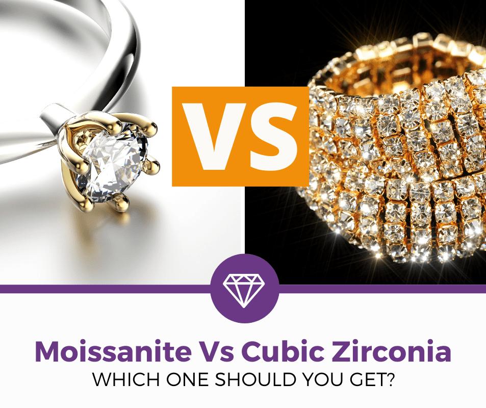 moissanite vs cubic zirconia