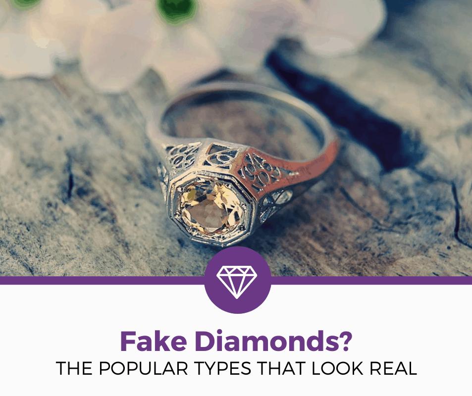 types of fake diamonds