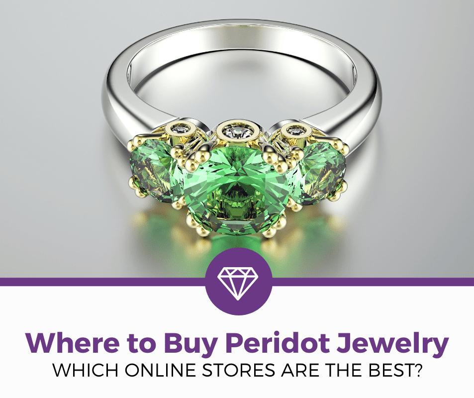 where to buy peridot jewelry online